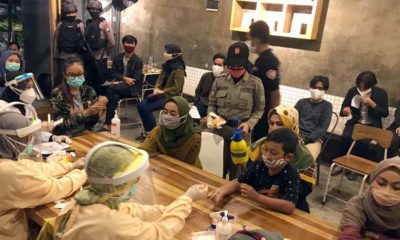 Satgas Covid Kota Malang Sasar Kafe di Kendalsari, 3 Pelanggan Reaktif Dibawa ke Rumah Isolasi