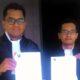 H Ahmad Zaini SH MH dan Abraham G Wicaksana SH, kuasa hukum Taruwi. (ist)