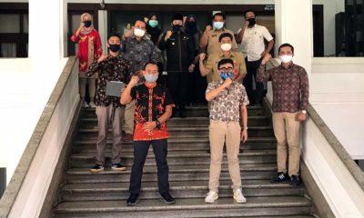 Beberapa perwakilan WO dan juga Wali Kota Malang setelah melakukan audiensi