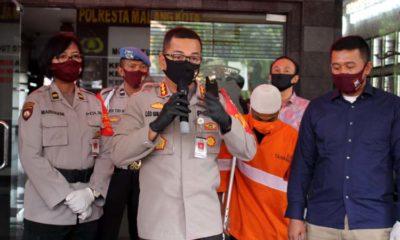 Arek Muharto Terjungkal Ditembak Polisi