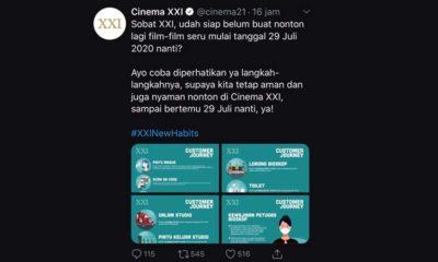 Bioskop Share Aturan Nonton, Pecinta Film Layar Lebar Boleh Lega