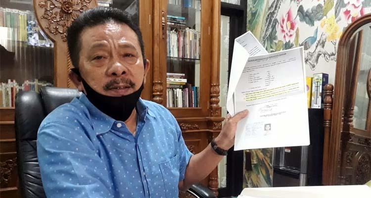 MS Alhaidary SH MH kuasa hukum Liem Linawati. (gie)