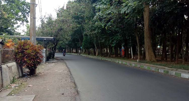 lokasi kejadian Jl Simpang Ijen. (ist)