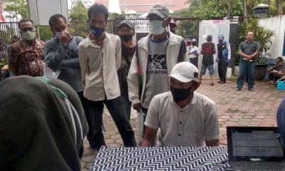 Sopir Angkot di Kota Malang Dapat BLT Covid 19 Tahap 1