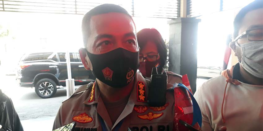 Kapolresta Malang Kota Kombes Pol Dr Leonardus Harapantua Simarmata Permata S Sos SIK MH. (gie)