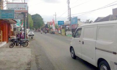 Kawasan niaga di Jalan Mayjend Sungkono, Kota Malang. (memo x/hms)