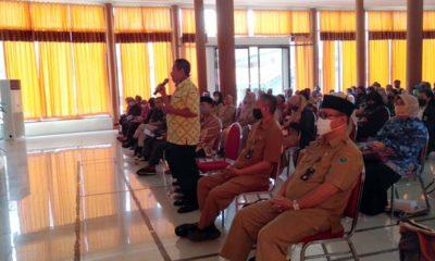 Walikota Malang Sutiaji menghadiri acara di SMKN 2, Kota Malang. (memo x/cw1)