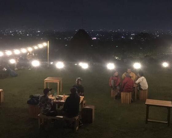 CANTIK: View pada malam hari yang nampak menawan nan cantik.