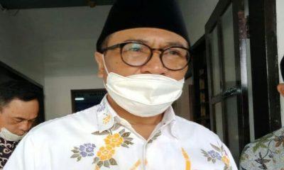 Wakil Wali Kota Malang, Sofyan Edi Jarwoko dikonfirmasi usai mengisi sambutan dalam acara Anniversary FKKAUB di Kelurahan Bandungrejosari.