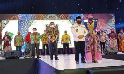Pelaksanaan gelaran Batik Malangan di Gedung Kartini, Kota Malang yang dihadiri oleh Wali Kota Malang.