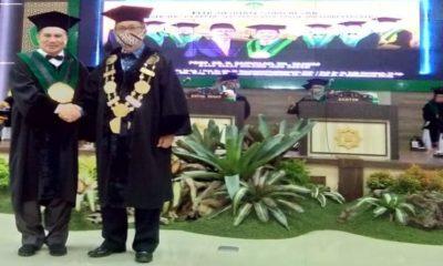 Pengukuhan guru besar UIN Maliki.