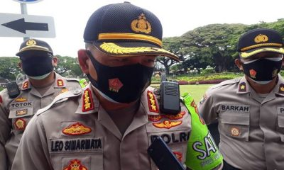 Kapolresta Malang Kota Kombes Pol Dr Leonardus. (gie)