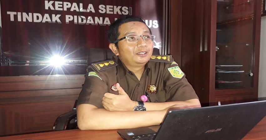 Kasi Pidsus Kejaksaan Negeri Kota Malang Dino Kriesmiardi SH MH . (gie)
