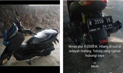 Motor milik korban yang hilang (ist)