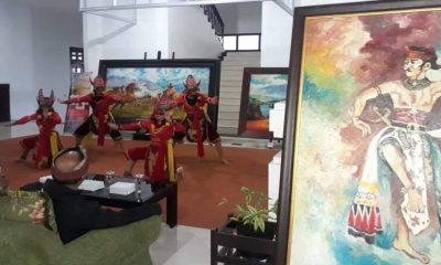 Pembukaan Art dalam pandemi Covid-19 di Gedung Dewan Kota Malang. (gie)