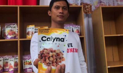 Sadar, Mantan Napiter Suskes Usaha Calyna Candy