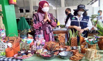 Widayati Sutiaji saat mengahadiri acara yang digelar oleh DLH Kota Malang beberapa waktu lalu.