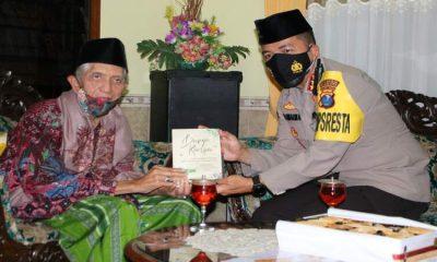 Kombes Pol Leonardus saat berkunjung ke MUI Kota Malang. (ist)