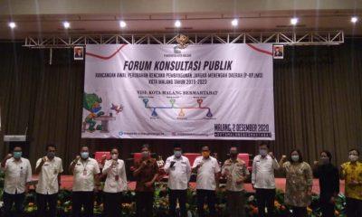 Pemkot Malang Lakukan Perubahan RPJMD 2018 - 2023
