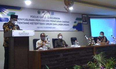 Perda Nomor 2 Tahun 2012 Kota Malang Jadi Sorotan FGD