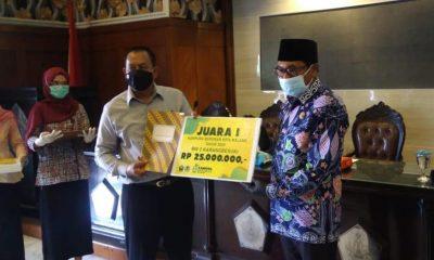 RW 2 Karangbesuki Fokus Pengolahan Sampah - Juara I Lomba Kampung Bersinar Kota Malang 2020