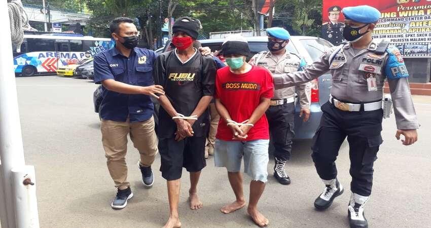Pelaku Pembobol Onderdil Motor Umi Jaya Oli, Mengaku Dendam Karena Sering Dimarahi