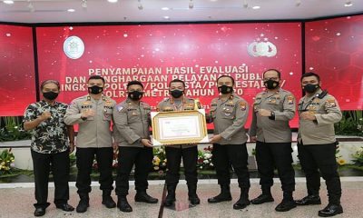 Berikan Pelayanan Prima Kepada Masyarakat, Polresta Malang Kota Raih Penghargaan Kemenpan-RB