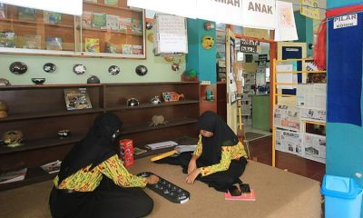 Perpustakaan SMPN 9 Kota Malang Hadirkan Beragam Keunikan