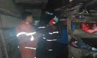 Diduga Korsleting Listrik, Rumah di Ciptomulyo Terbakar
