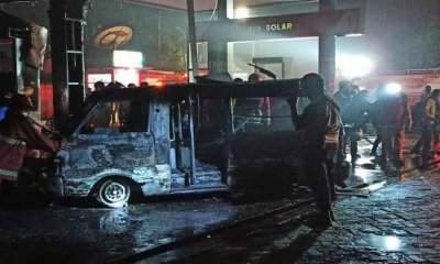 Kebakaran SPBU Bumiayu, Polisi Segera Datangkan Labfor Polda Jatim