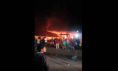 SPBU Bumiayu Terbakar, Sedikitnya Satu Unit Kendaraan Hangus Terbakar