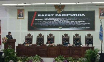Wali Kota Sutiaji Beri Jawaban Atas Pandang Umum Fraksi DPRD Terkait Ranperda