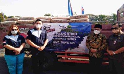 Pemkot Malang Terima Bantuan Kemanusiaan untuk Korban Gempa dari PT BPF