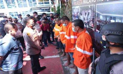 Lima Pengeroyok Mahasiswa Ditangkap Polisi